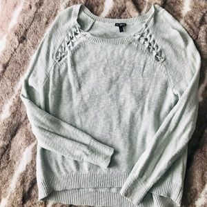 Express wide neck sweater